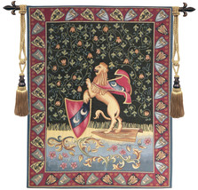 Lion Medieval Tapestry Wall Hanging - $117.85
