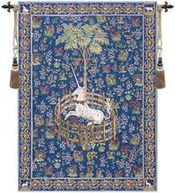 Licorne Captive II European Tapestry Wall Hanging - £199.03 GBP+