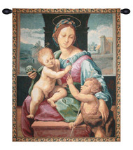 Madonna Aldobrandini by Raphael Tapestry Wall Art Hanging - $60.85+