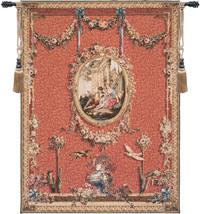 Medallion Serenade Rouge European Tapestry Wall Hanging - $441.85