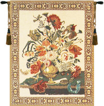 Mignon Bouquet -  Beige Tapestry Wall Art Hanging - $238.85+
