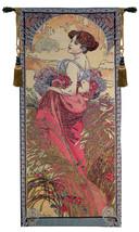 Mucha Summer I European Tapestry Wall Hanging - £65.17 GBP+