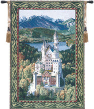 Neuschwanstein Castle Wall Hanging Tapestry - $209.85
