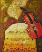 Music of Antiquity Art Oil Painting - $91.85+