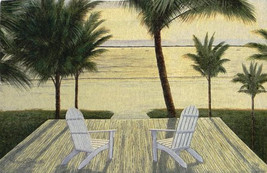 Palm Beach Retreat Wall Hanging Tapestry - $134.85