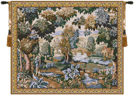 Paysage Flamand Moulin Tapestry Wall Art Hanging - $195.85