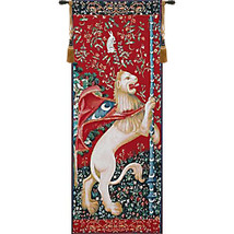 Portiere Lion  European Tapestry Wall Hanging - $349.85