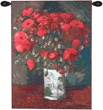 Poppies Van Gogh European Tapestry Wall Hanging - $108.85+