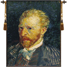 Portrait of Van Gogh Tapestry Wall Art Hanging - $261.85