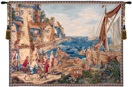 Return of Peche European Tapestry Wall Hanging - $447.85