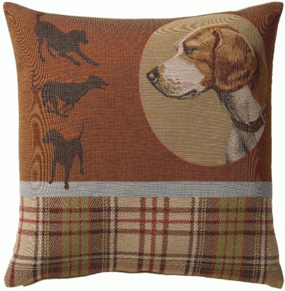 Scottish Dogs European Cushion