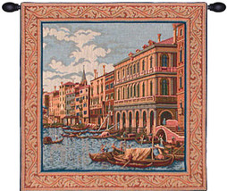 Shore on the Large Canal Tapestry Wall Art Hanging - $109.85