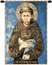 St. Francis From Assisi Tapestry Wall Art Hanging - $100.85