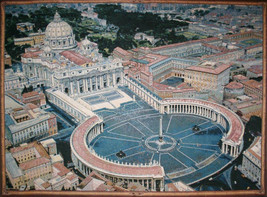 St. Peters Square Tapestry Wall Hanging - $70.85+