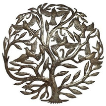 Steel Drum Art - 24 inch Tree of Life - Croix des Bouquets - £60.39 GBP+