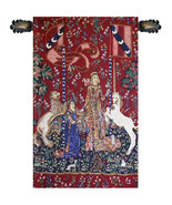 Taste, Lady and the Unicorn Tapestry Wall Hanging - $115.85