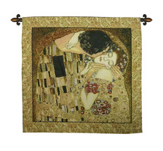 The Kiss Klimt Tapestry Wall Hanging - $87.85+