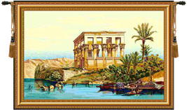 Temple of Philae Tapestry Wall Art Hanging - $124.85+