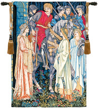 The Holy Grail Left Panel European Wall Hangings - $764.85