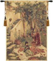 The Orange Gatherers Tapestry Wall Art Hanging - $149.85