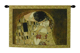 The Kiss by Klimt Tapestry Wall Hanging - $94.85+