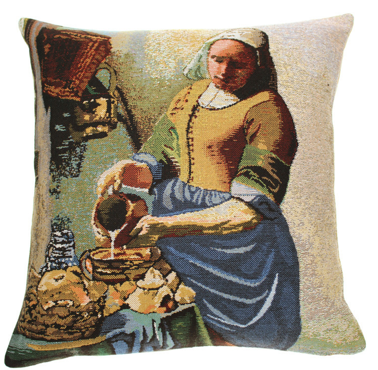 The Servant Girl European Cushion Cover