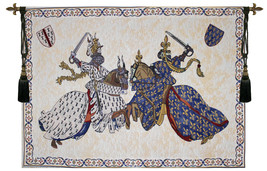 Tournament of Knights Roi Rene Tapestry Wall Hanging - $263.85