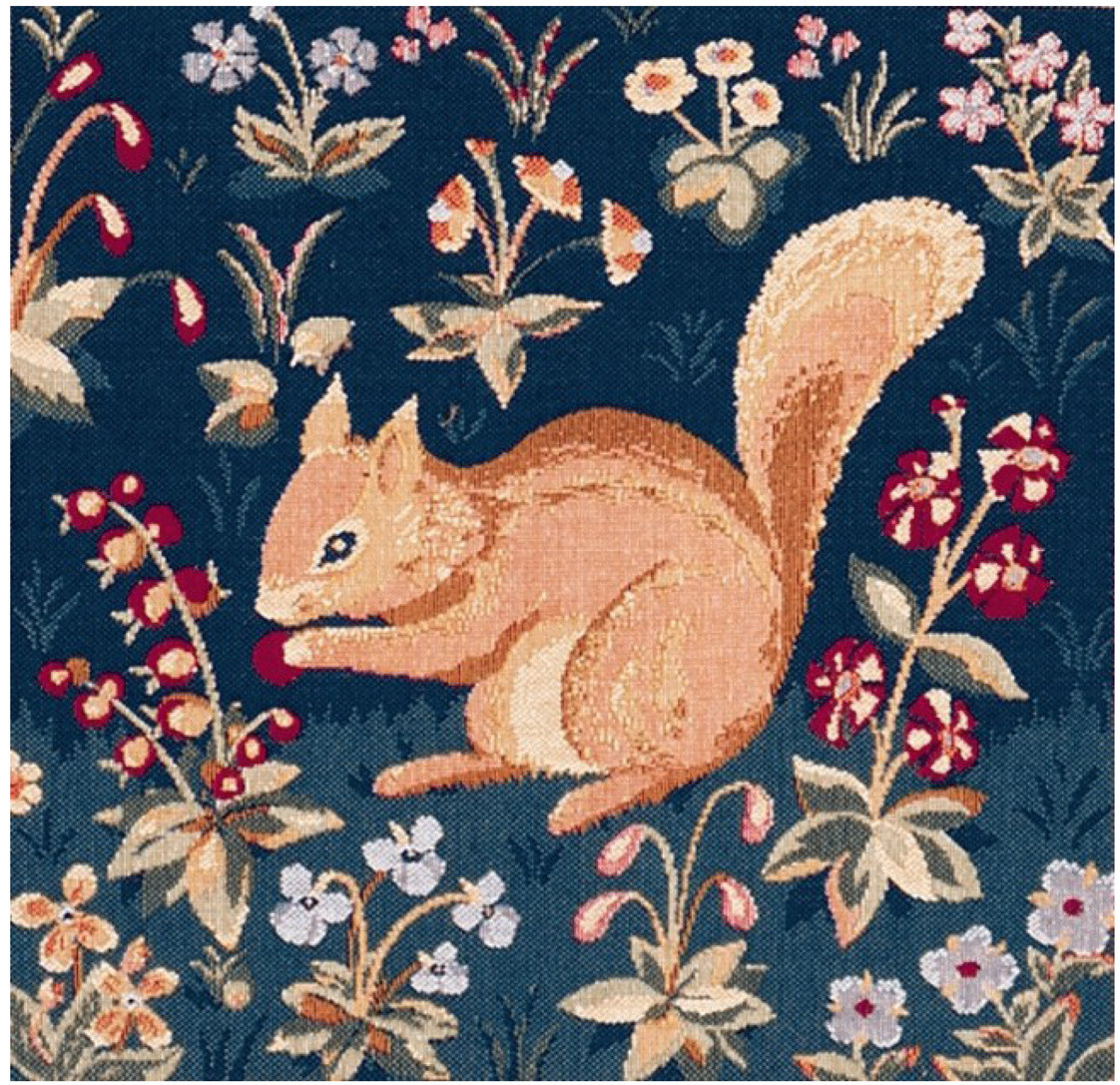 Tree Squirrel European Cushion