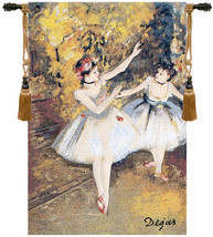 Two Dancers On Stage by Degas European Wall Hangings - $104.85+