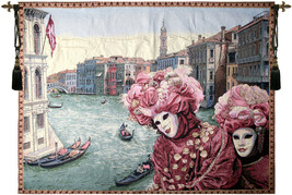 View with Masks Tapestry Wall Hanging - $94.85+