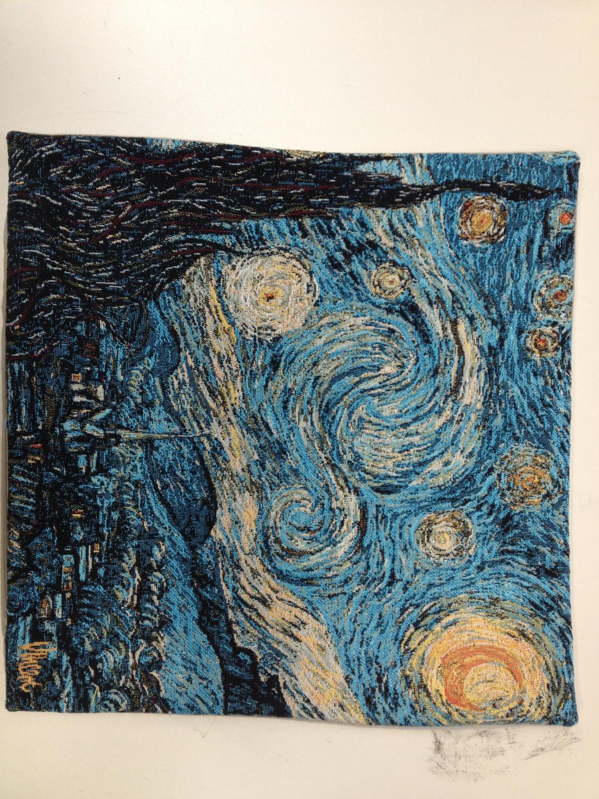 Van Gogh's Starry Night I European Cushion Cover