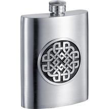 Visol Aragon Celtic Design Pewter Hip Flask - 6 oz - €58,43 EUR+