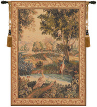 Verdure Aux Oiseaux I European Tapestry Wall Hanging - $441.85