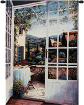 View from the Veranda Wall Hanging Tapestry - $140.85