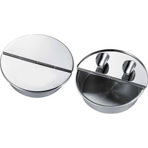 Visol Zimmer Silver Plated Cigar Ashtray with 2 Cigar Rests - $35.85