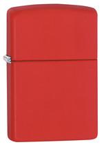 Zippo Red Matte Lighter - $25.85