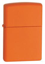 Zippo Orange Matte Lighter - $25.85+