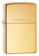 Zippo High Polish Brass Lighter 220 - $29.85