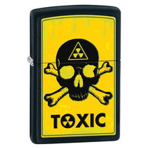 Zippo Toxic Black Matte Lighter - $30.85