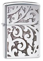 Zippo Filigree High Polish Chrome Windproof Lighter - $29.85