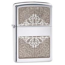 Zippo Filigree Mirror High Polish Chrome Lighter - $32.85