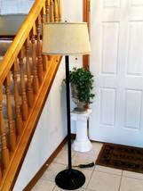 """Modern Quoizel Floor Lamp Light 63"""" Tall  Dark Rust Finish, Triple Socket - $74.89"""