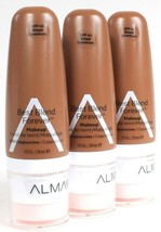 3 Ct Almay 200 Cappuccino SPF 40 Broad Spectrum Best Blend Forever Makeup - $26.99