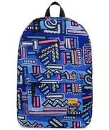 Herschel Supply Co. Winlaw Backpack Abstract Geo Blue School College Pro... - $64.35