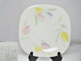 Studio Nova French Tulips CH007 Square Salad Plate - $10.88