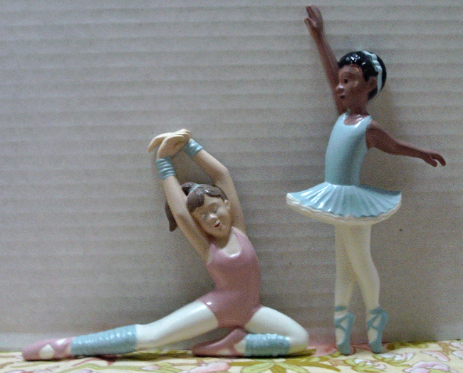 Vintage Burwood Product Co. BALLERINA Wall Hangings // BALLET // Dance