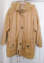 Lloyd Elliots Country Club Avanti Outerwear Jacket Coat Toggle Leather H... - $119.95