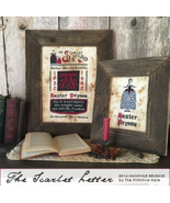 CLEARANCE The Scarlet Letter cross stitch chart The Primitive Hare  - $10.00