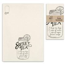 Sweet Tea Recipe Tea Towel, Pillow Base - Set of 4 - $31.99