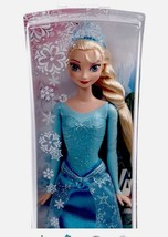 "*NEW* DISNEY 12"" ELSA DOLL with FREE FROZEN NE... - $9.89"